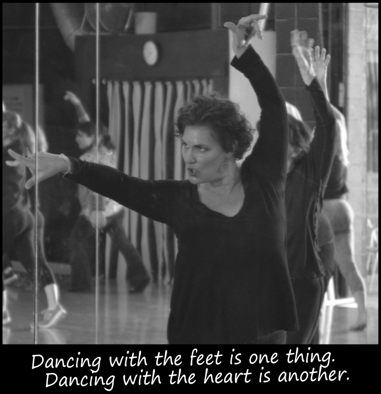 Dancing with Feet ...